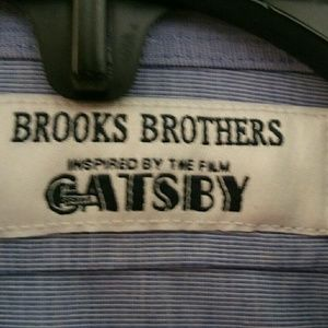 Two Brooks Brothers Great Gatsby shirts